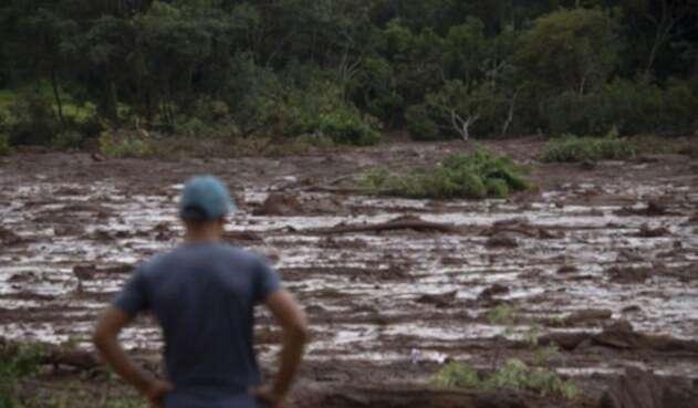 Tragedia minera en Brasil.