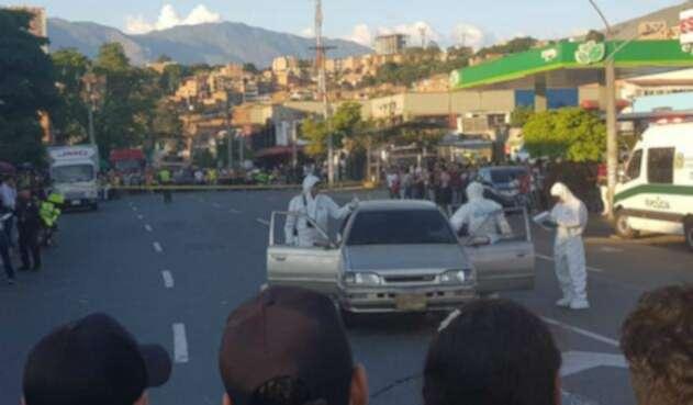 Doble homicidio en Medellín tras discusión en un semáforo