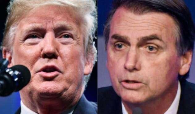 Donald Trump y Jair Bolsonaro, ¿el mismo estilo?