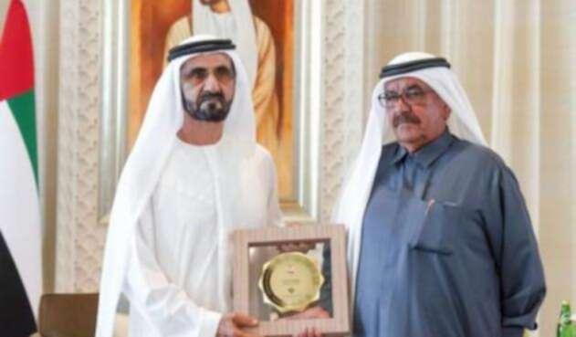 Entrega de premios en Emiratos.