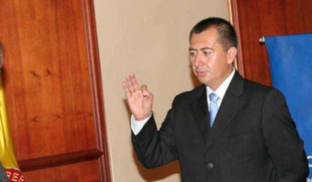 Édgar Alfonso Bejarano Méndez, exdirector de la CAR Cundinamarca
