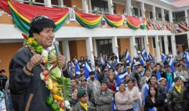 Evo Morales, un mandatario que lleva 13 años en el poder y va por más.