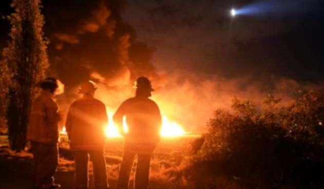 No cesa la conmoción por la explosión de ducto en México.