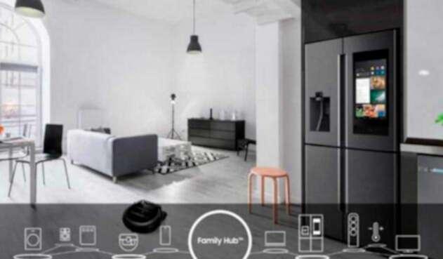 Family Hub, la nevera inteligente de Samsung