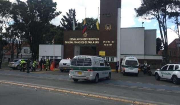 Emergencia en la Escuela de Cadetes de Policía General Santander