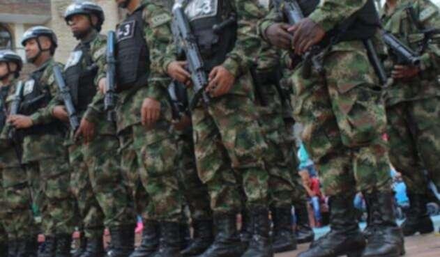 Filas del Ejército Nacional