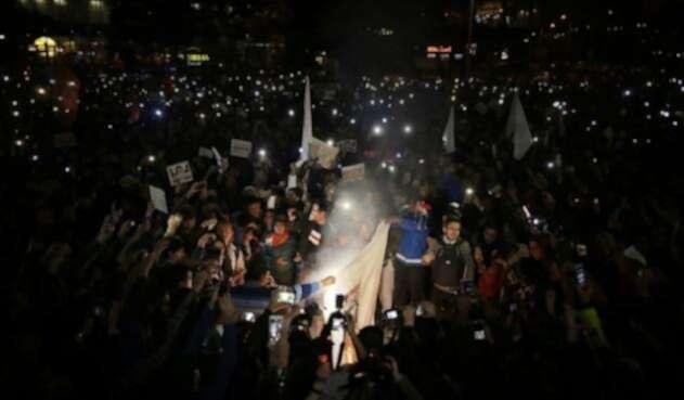 Marchas contra el fiscal general