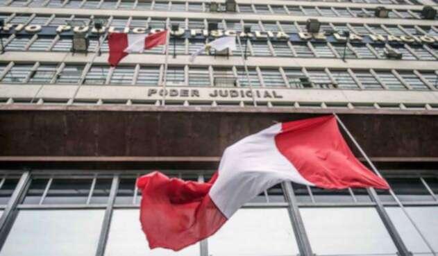 Imagen de referencia del centro del poder judicial de Perú