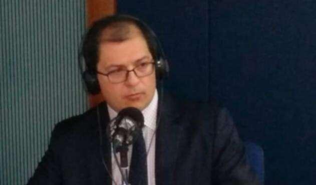 Francisco Barbosa Delgado, alto consejero presidencial de Derechos Humanos y asuntos internacionales