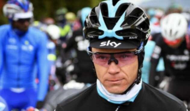 Chris Froome, la gran decepción del Tour Colombia 2.1