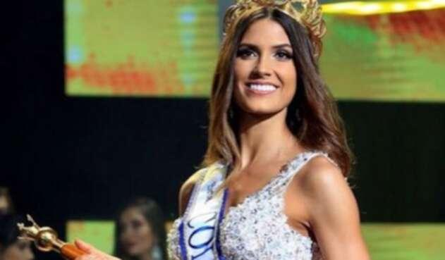 La actual representante de la belleza colombiana habló de este tema a través de redes sociales.