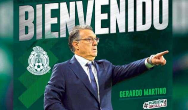 Gerardo Martino, nuevo técnico de la selección Mexicana