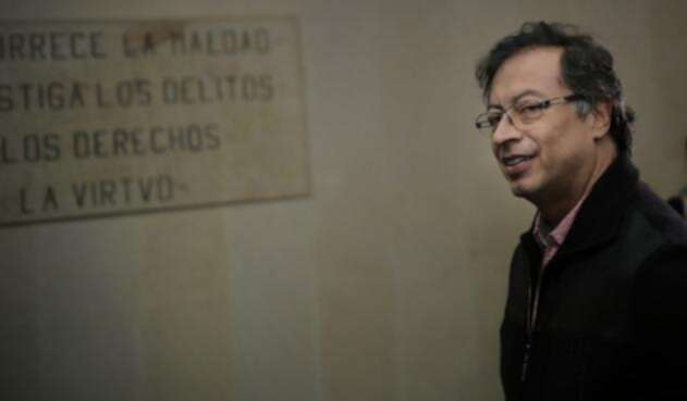 Gustavo Petro rindió indagatoria ante la Corte Suprema.
