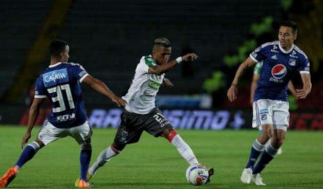 Henry Rojas jugando con Millonarios