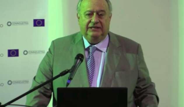 Humberto Calderón Berti, embajador de Venezuela en Colombia en el gobierno de Juan Guaidó