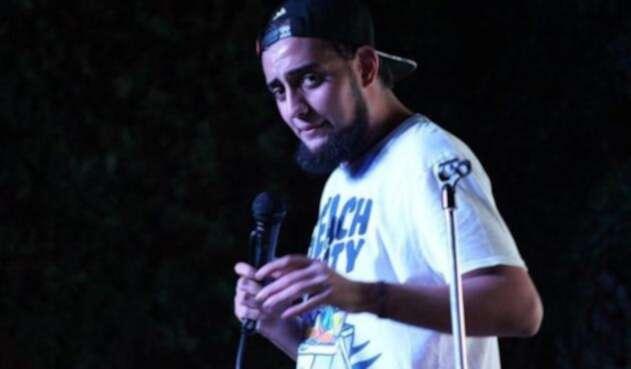 Ibrahim Salem, un humorista en medio de una intensa polémica.