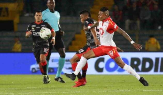 Santa Fe se vio superado por el Cúcuta Deportivo en El Campín después de 30 años