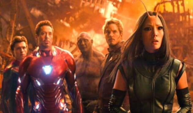 Imagen de la película Avengers: Infinity War