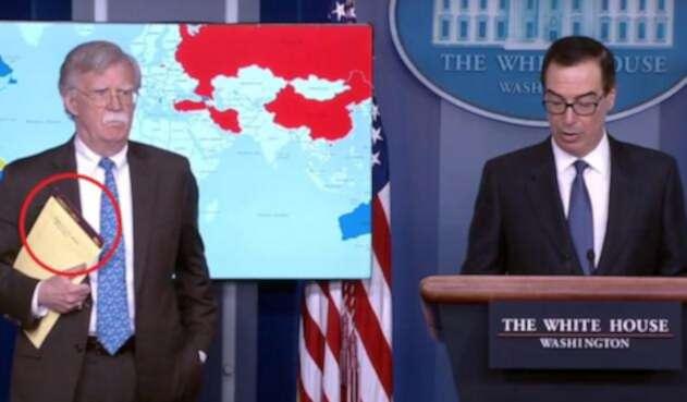 John Bolton, consejor de seguridad de Estados Unidos