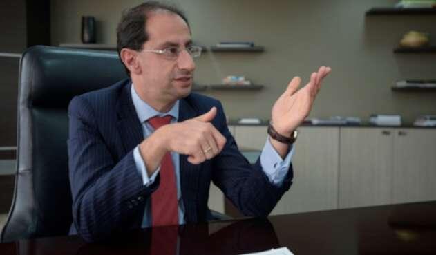 José Manuel Restrepo, ministro de Comercio
