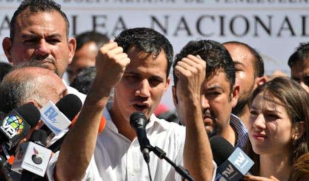 Juan Guiadó, presidente del Parlamento Venezolano