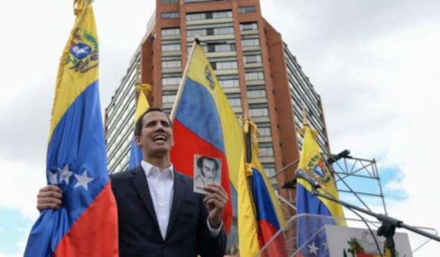 Juan Guaidó, autoproclamado presidente interino de Venezuela