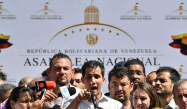 Juan Guaidó, presidente de la Asamblea de Venezuela
