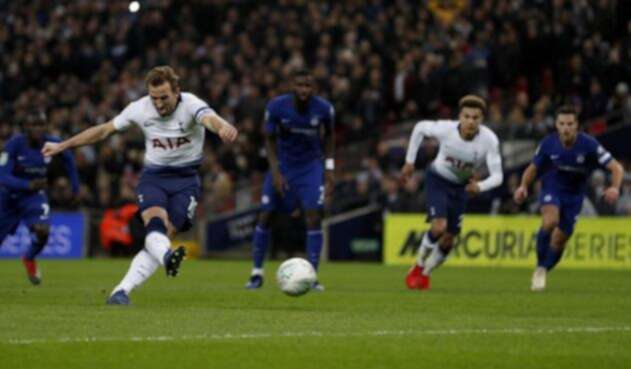 Kane anotó el único tanto del juego