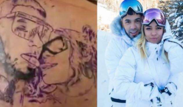 Anuel Aa Y Karol G Se Tatuaron Como Muestra De Amor La Fm