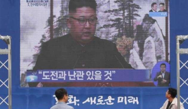 Kim Jong-un, líder de norcorea