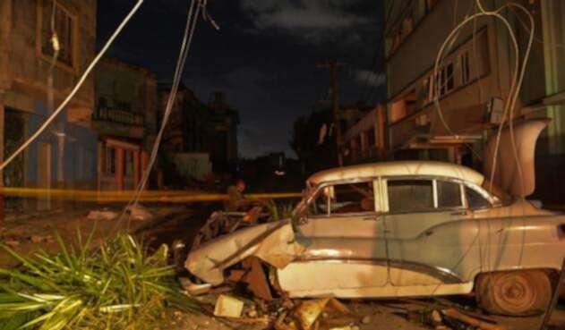La Habana (Cuba) tras el paso de un tornado