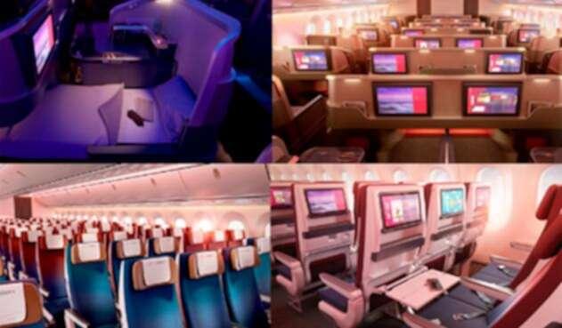 Así serán las nuevas cabinas de Latam Airlines