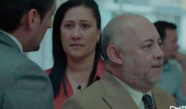El doctor Mahecha reveló frente a los otros abogados que es el padre de Marcos Tibatá.