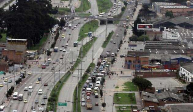 Límite de velocidad en Bogotá