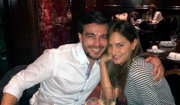Luciano D'Alessandro y Valeríe Dominguez pasaron el fin de año juntos