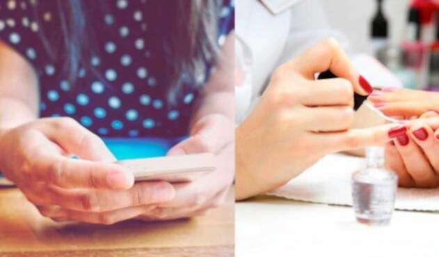 La manicurista, la app que ofrece manicura a domicilio