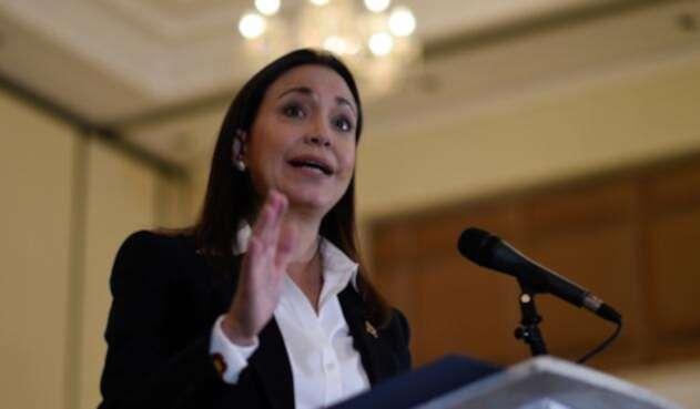 María Corina Machado, dirigente venezolana opositora al gobierno de Nicolás Maduro