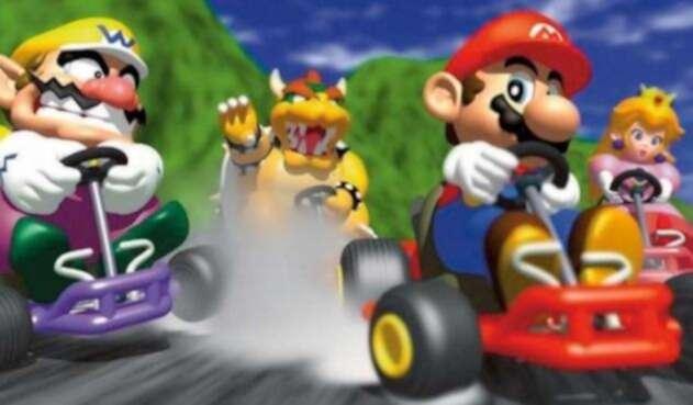 Mario Kart 64, uno de los juegos más populares de la Nintendo 64
