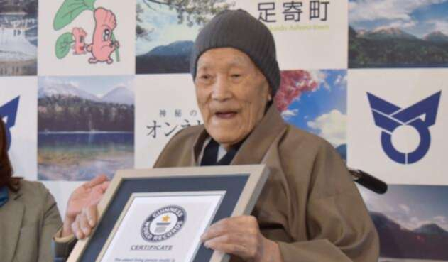 Masazo Nonaka, hombre más viejo del mundo, murió en las últimas horas.