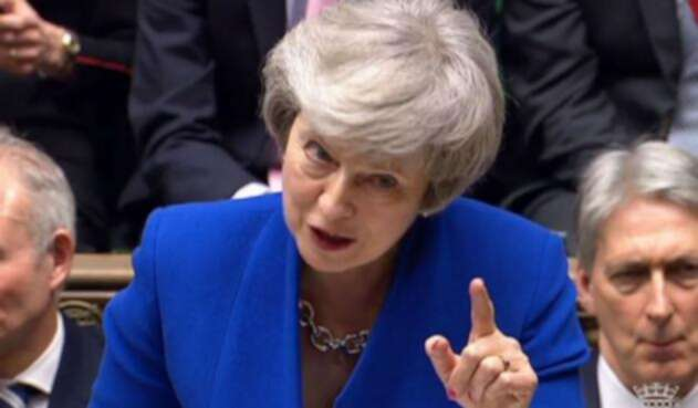 Debate de moción de censura a Theresa May