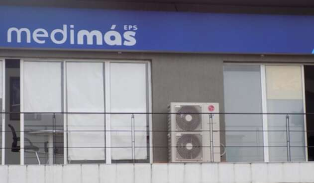 Una de las sedes de Medimás en Bogotá