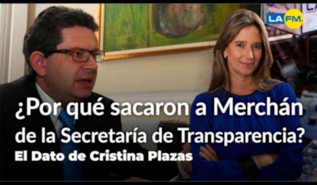 Rafael Merchán y Cristina Plazas