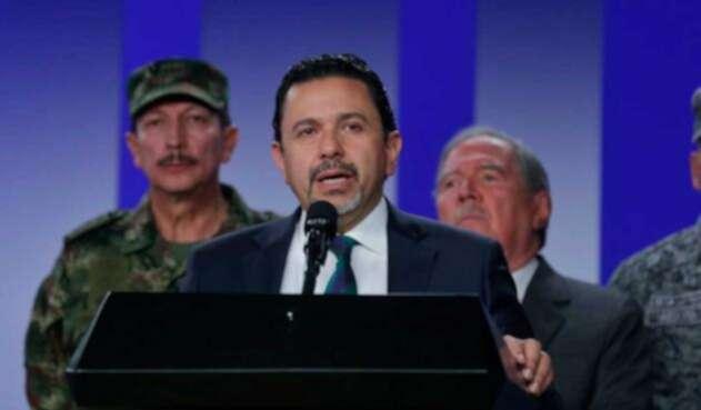 Miguel Ceballos dice que el ELN debe cesar actos criminales.