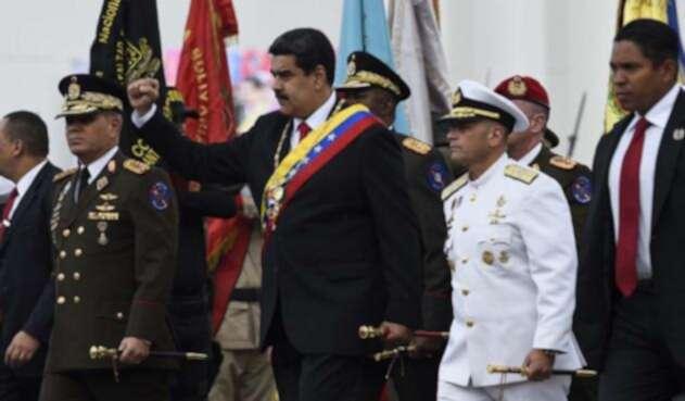 Nicolás Maduro, tras su posesión