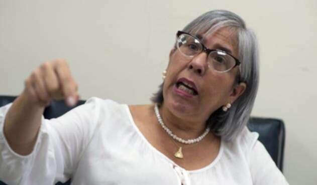 Norka Márquez, madre de Juan Guaidó