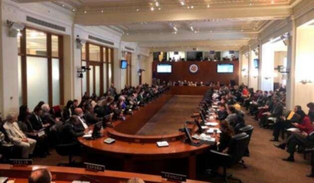 La OEA reunida en Washington