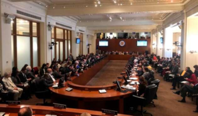 La OEA reunida en Washington