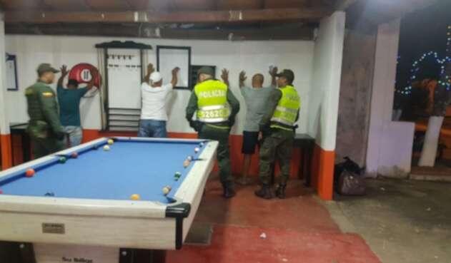 Los operativos se  han intensificado en los establecimientos públicos.
