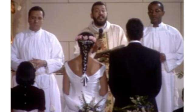 El Padre Alberto Linero en 'Betty la fea'.