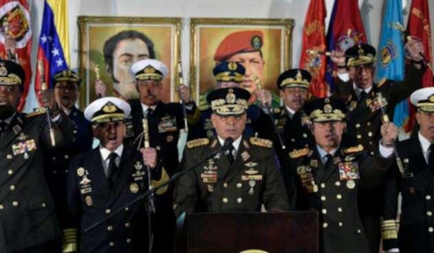 El general Vladimir Padrino López, ministro de la Defensa de Venezuela
